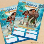 FREE Printable Disney Moana Party Invitation