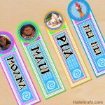 FREE Printable Moana Bookmarks