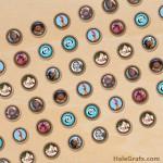 FREE Printable Moana Hershey's Kisses Stickers