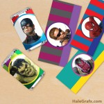 FREE Printable Avengers Mini Candy Bar Wrappers