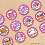 FREE Printable Num Noms Cupcake Toppers