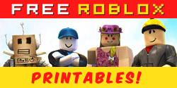 Free Roblox Printables