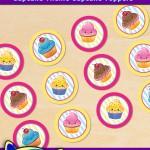 FREE Printable Cupcake Theme Cupcake Toppers