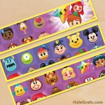 Free Printable Disney Emoji Blitz Water Bottle Labels