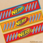 Free Printable Nerf Water Bottle Labels