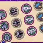 FREE Printable Vampirina Cupcake Toppers