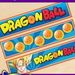 Free Printable Dragon Ball Water Bottle Labels