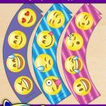 FREE Printable Emoji Cupcake Wrappers