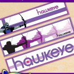 Free Printable Hawkeye Water Bottle Labels