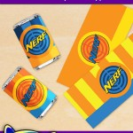FREE Printable Nerf Mini Candy Bar Wrappers