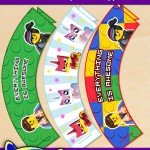 FREE Printable LEGO Movie Cupcake Wrappers