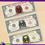 FREE Printable Deadpool Play Money