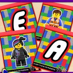 FREE Printable LEGO Movie Alphabet Banner Pack