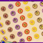 FREE Printable Five Nights at Freddy's Hershey's Kisses Stickers