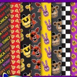 FREE Five Nights at Freddy's Digital Paper Pack