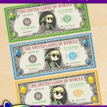FREE Printable Legend of Zelda Play Money