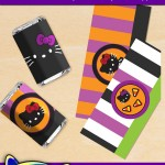 FREE Printable Halloween Hello Kitty Mini Candy Bar Wrappers
