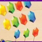FREE Printable Legend of Zelda Rupee Cupcake Toppers