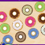FREE Printable Donut Cupcake Toppers