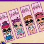 FREE Printable LOL Surprise Bookmarks