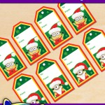 FREE Printable Christmas Minion Gift Tags