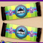 FREE Printable Fortnite Candy Bar Wrappers