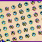 FREE Printable Fortnite Hershey's Kisses Stickers