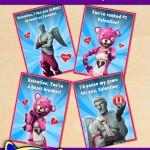 FREE Printable Fortnite Valentines