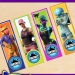 FREE Printable Fortnite Bookmarks