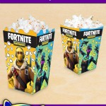 FREE Printable Fortnite Popcorn Box