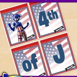 FREE Printable Fortnite 4th of July Banner Set
