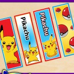 FREE Printable Pokémon Pikachu Bookmarks