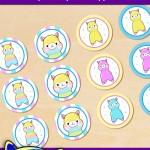 FREE Printable Alpaca Cupcake Toppers