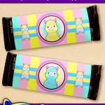 FREE Printable Alpaca Candy Bar Wrappers