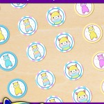 FREE Printable Alpaca Hershey's Kisses Stickers