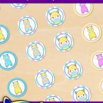 FREE Printable Alpaca Hershey's Kisses Stickers