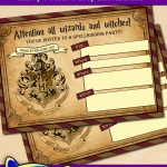 Free Printable Harry Potter Party Invitations
