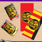 FREE Printable Cobra Kai Mini Candy Bar Wrappers