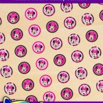 FREE Printable Minnie Mouse Candy Stickers