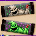 FREE Printable Nightmare Before Christmas Oogie Boogie Candy Bar Wrappers